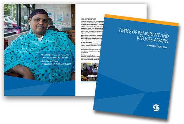 Office of Immigrant and Refugee Affairs, Annual Report