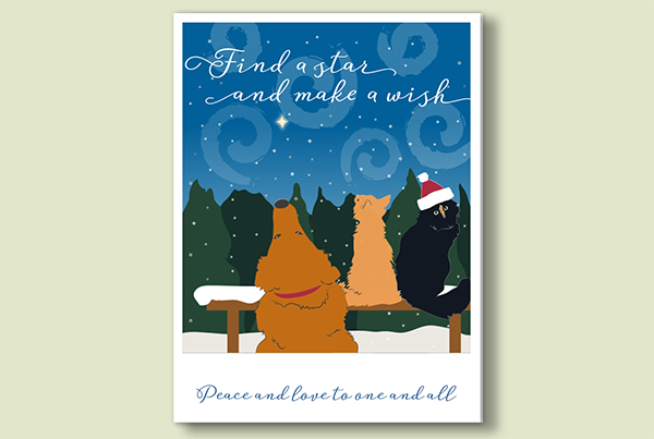 Campbell Design Holiday Card